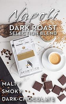 AROMISTICO White Dark Roast Italian Coffee Beans