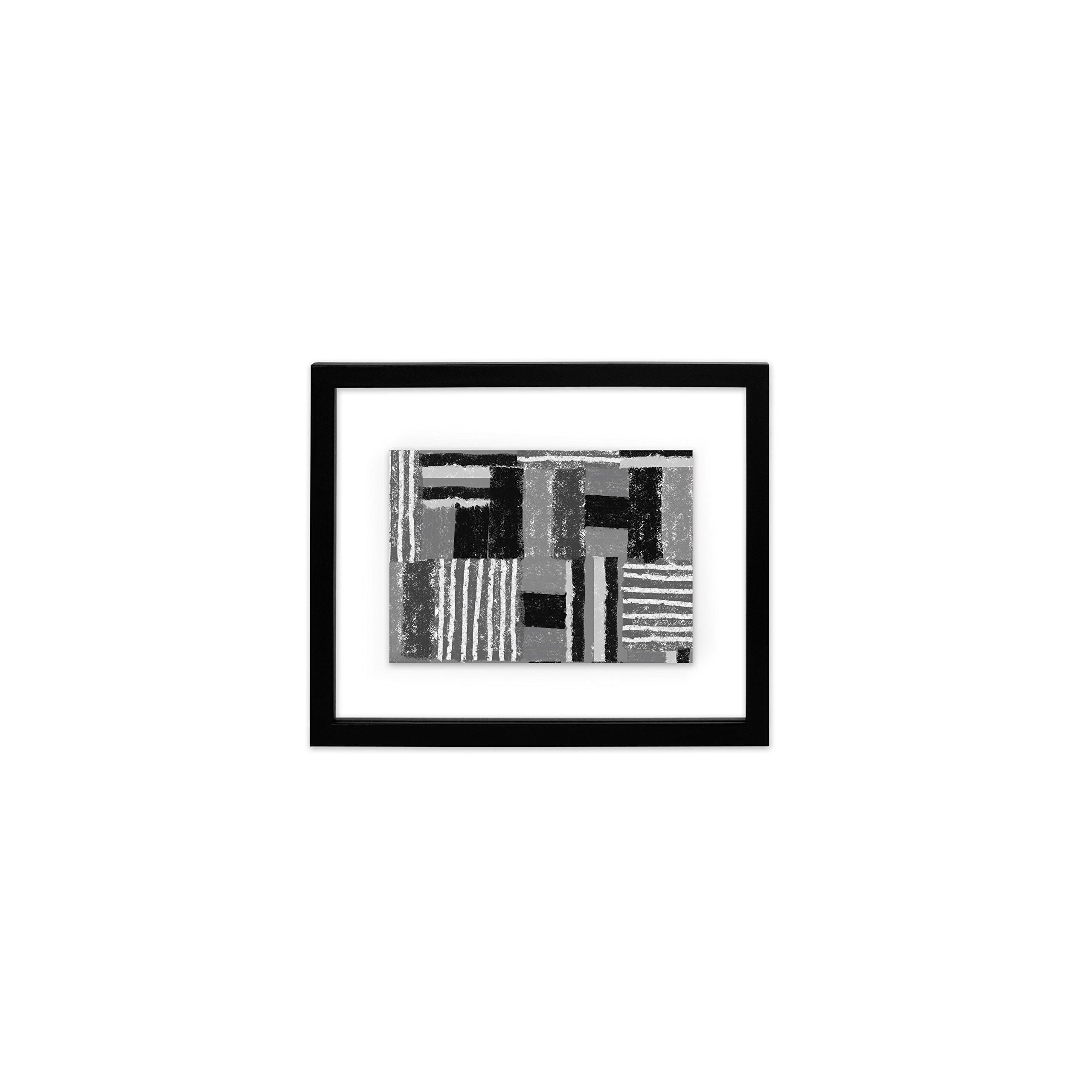 EDGEWOOD Driftwood- Float Frame- 5x7 Black