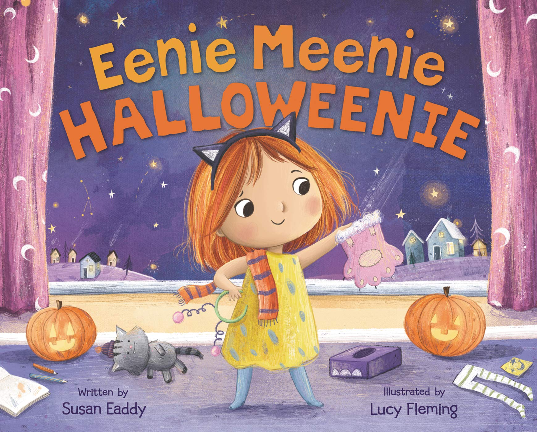 Eenie Meenie Halloweenie: Eaddy, Susan, Fleming, Lucy: 9780062691675: Amazon.com: Books