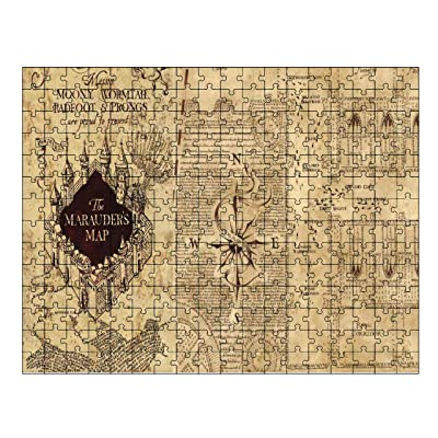 Marauder's Map Jigsaw Puzzle (252 piece) by EandM: Kitchen & Dining