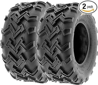 Set of 2 WANDA ATV Tires 22X10-10 22X10X10 4PR Big Horn Style
