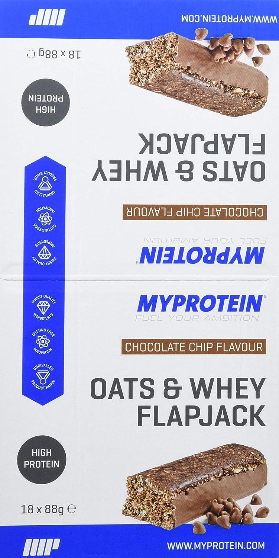 MyProtein Oats & Whey Barritas Proteínicas, Sabor Chip de Chocolate - 18 Barras: Amazon.es: Salud y cuidado personal