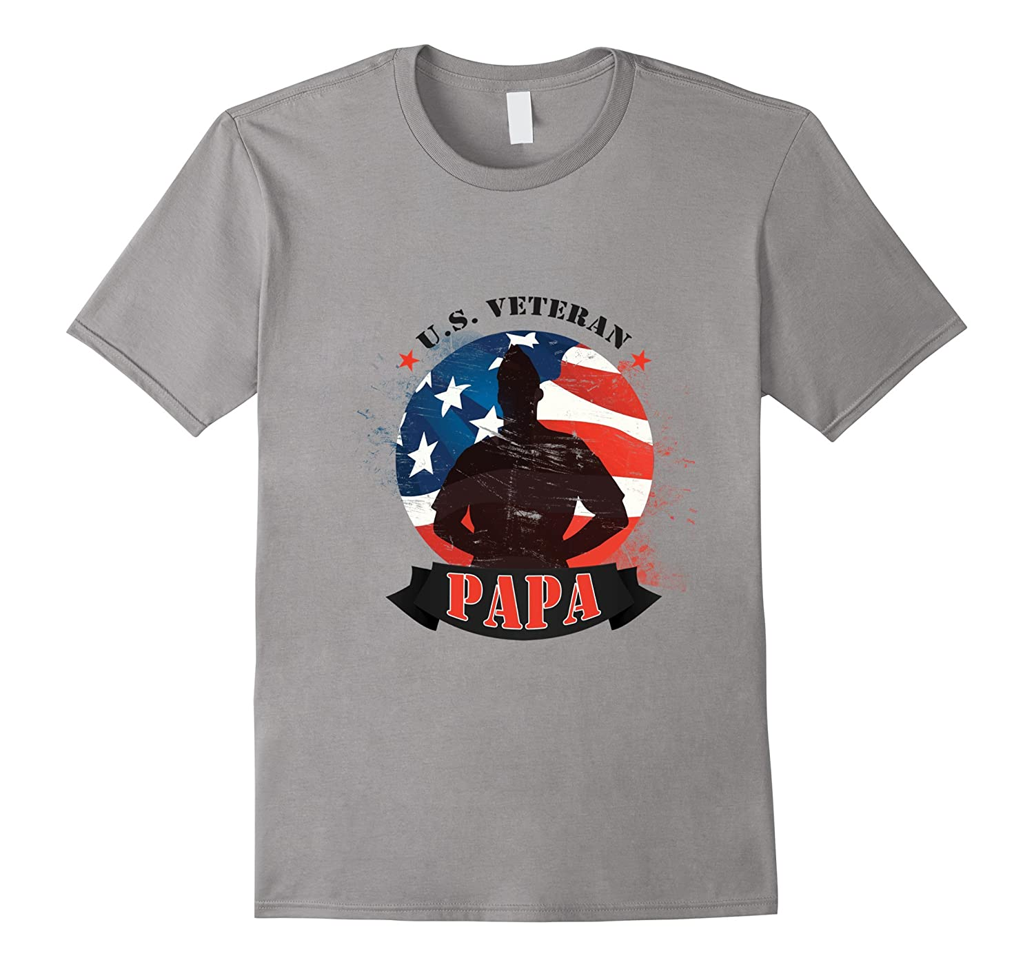 veteran papa t shirt goatstee. Black Bedroom Furniture Sets. Home Design Ideas