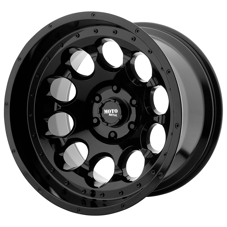 MOTO METAL ROTARY GLOSS BLACK ROTARY 17x9 5x127.00 GLOSS BLACK -12 mm