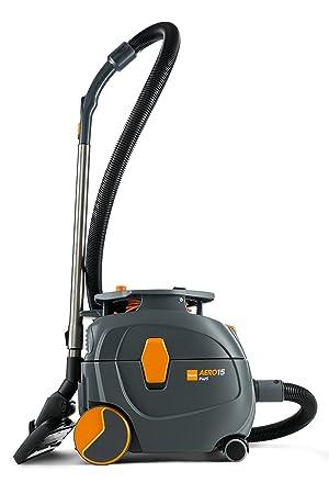 Taski Aero 15 Plus Canister Dry Vacuum, 4 Gallon, Grey Orange