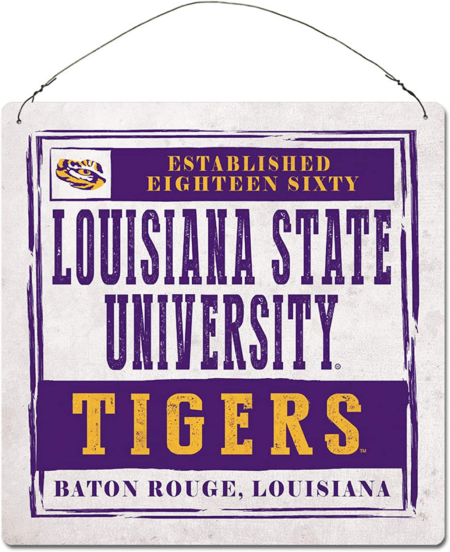 Legacy NCAA Fan Shop Large Tin Sign 12x12