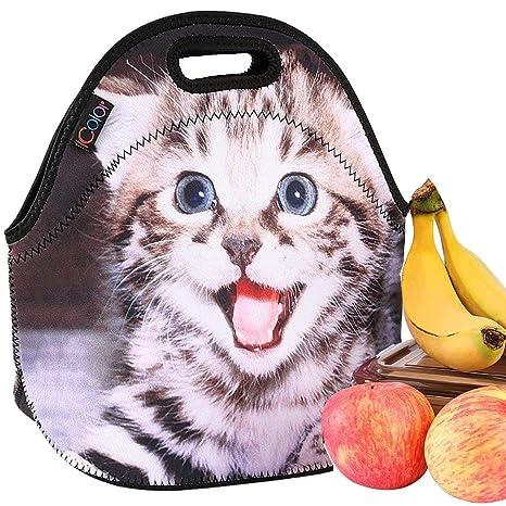 Amazon.com: Bolsa de almuerzo iColor, diseño unisex ...