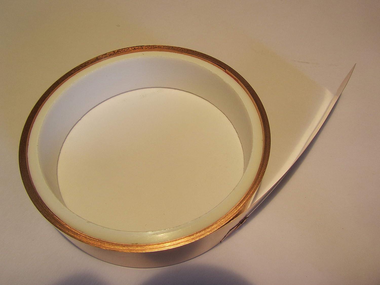 0,035 x 5 mm Copper Foil 10/m Roll 3