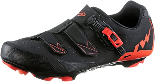 Amazon.com: Northwave Man MTB XC Shoes Scream 2 SRS Black/Lobster Orange: Sports & Outdoors