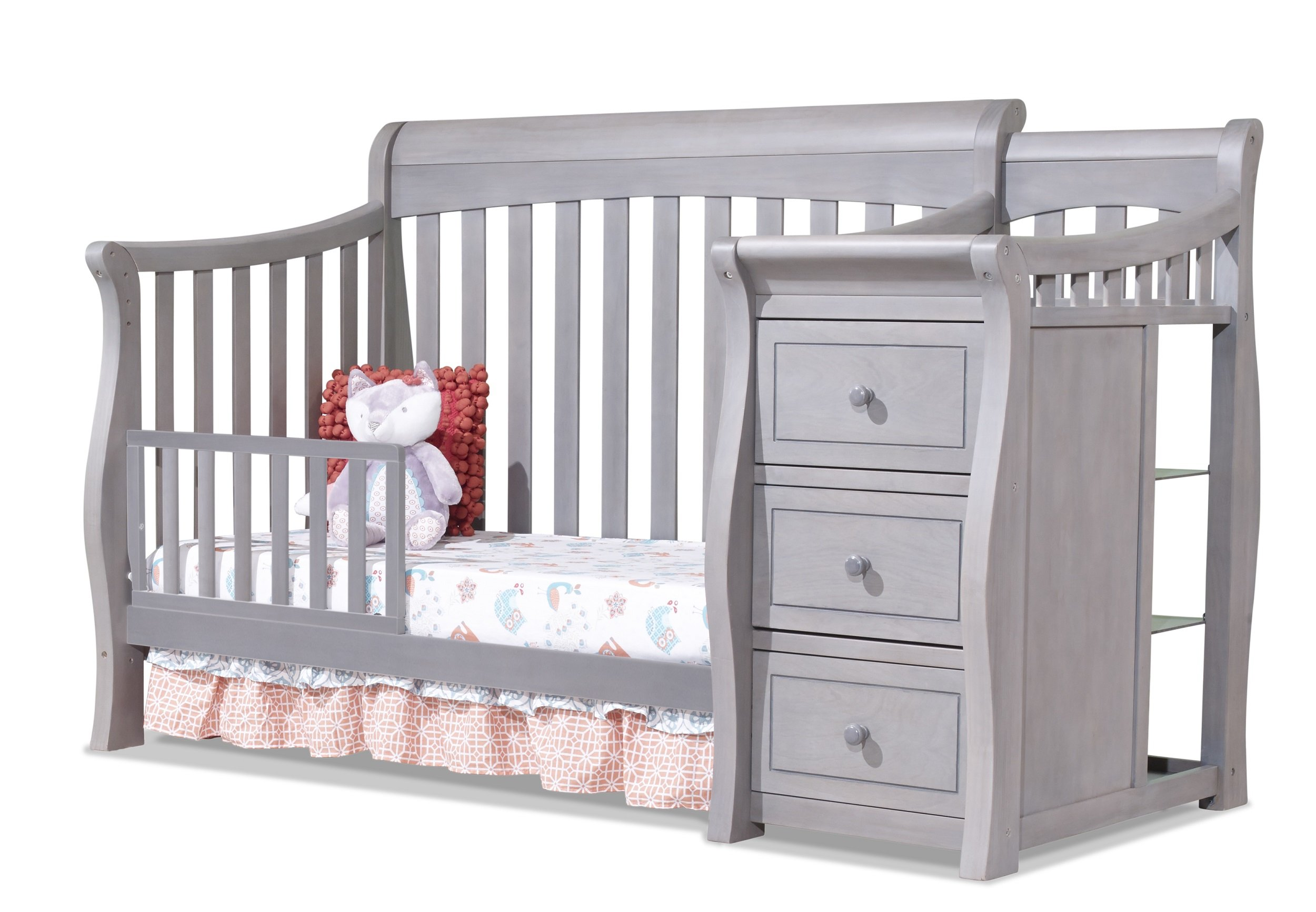 Sorelle Tuscany Toddler Rail, Weathered Gray by Sorelle