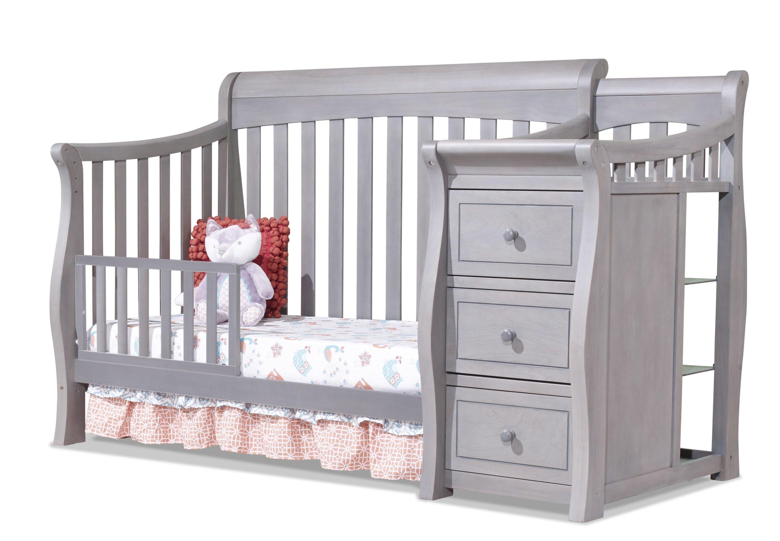 Amazon Com Sorelle Tuscany Crib And Changer Weathered