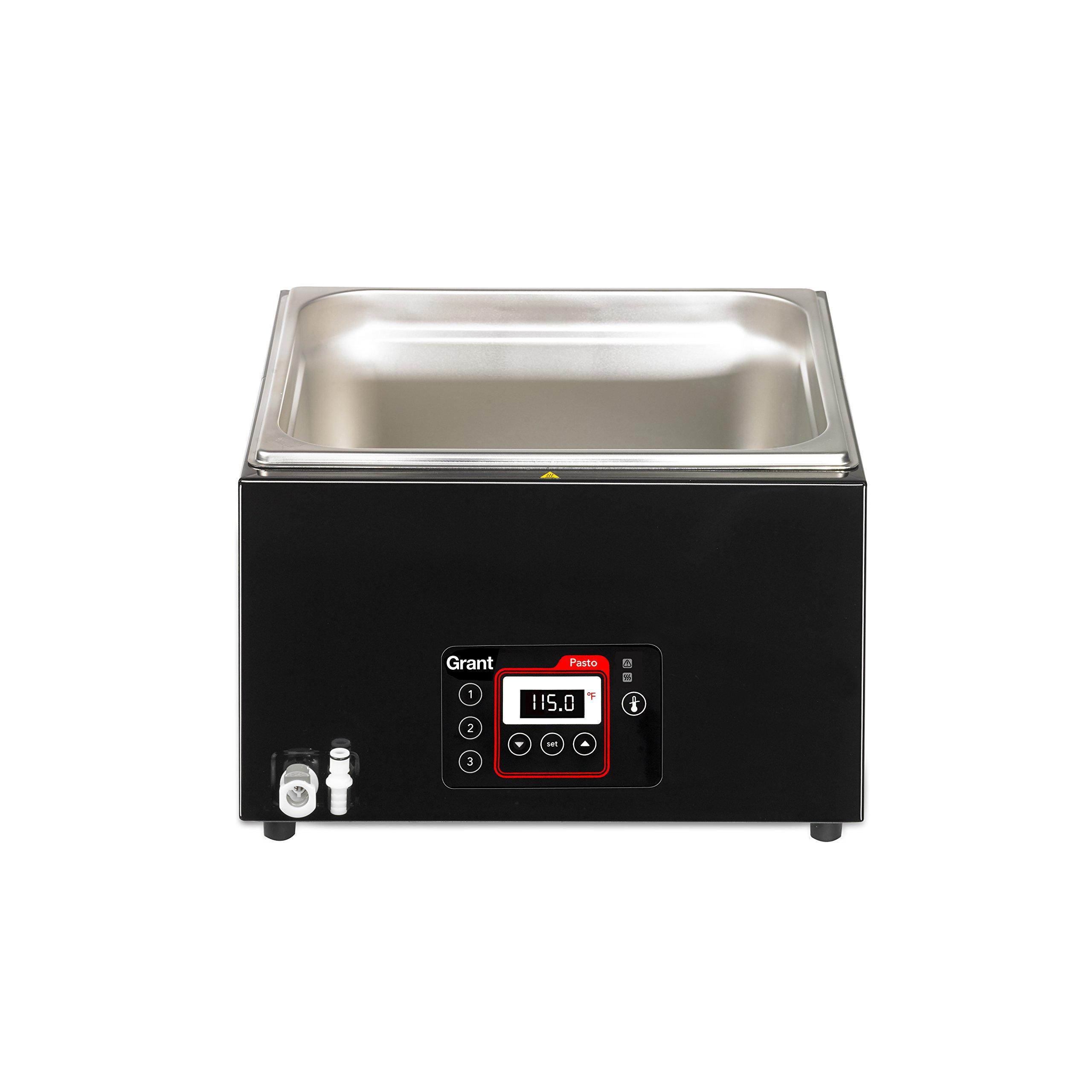 Creative Cuisine By Grant Professional Pasto Sous Vide Water Bath, Black, 26L