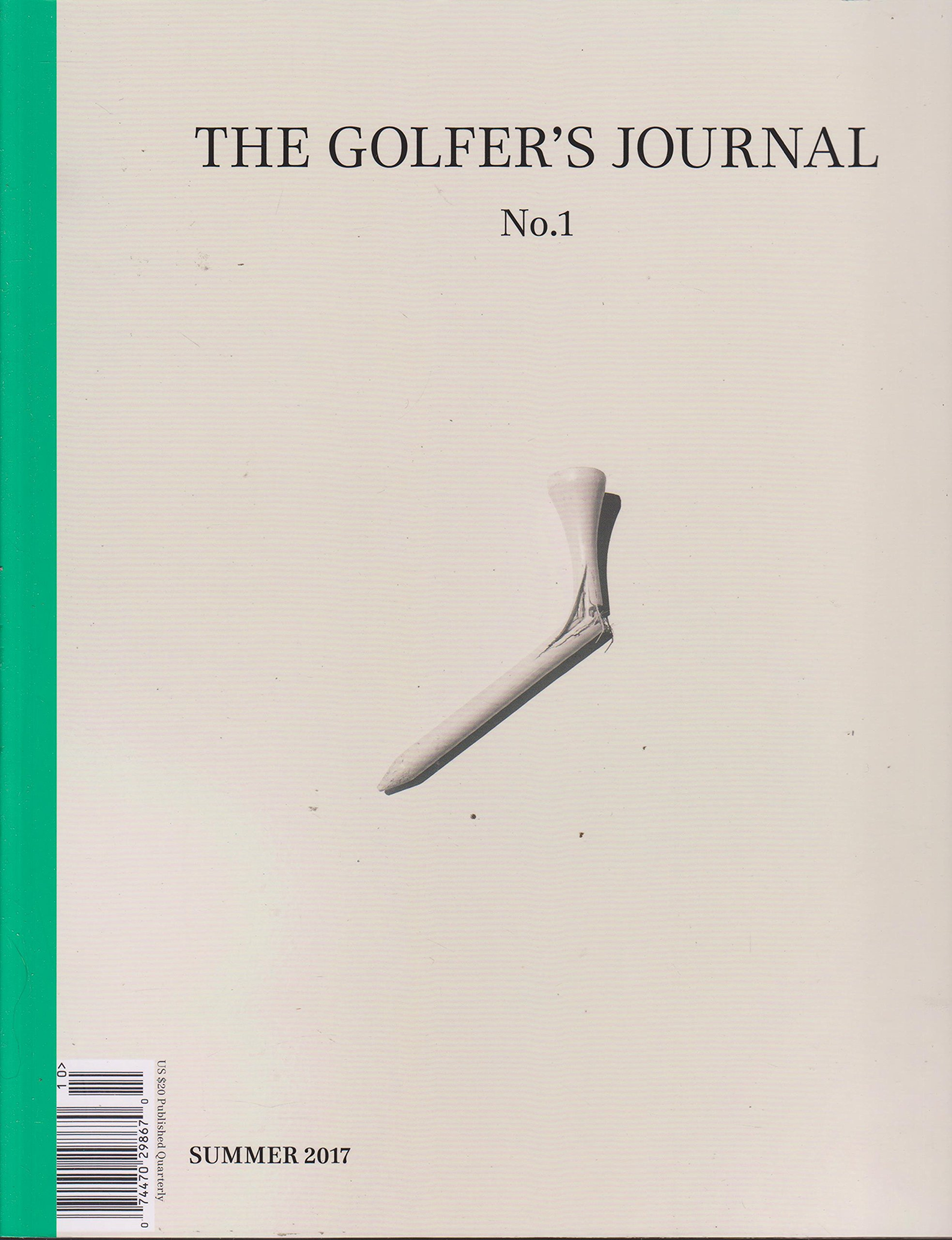 The golfers journal 1 summer 2017 various amazon books fandeluxe Gallery