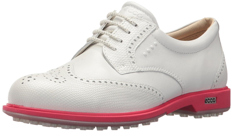ECCO Women's Classic Hybrid Golf Shoe B074F8MLH1 36 M EU (5-5..5 US)|White/Teaberry