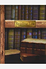 "Reading Log: Gifts for Book Lovers / Reading Journal [ Softback * Large (8"" x 10"") * Antique Books * 100 Spacious Record Pages & More... ] (Reading Logs & Journals) Diary"