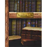"Reading Log: Gifts for Book Lovers / Reading Journal [ Softback * Large (8"" x 10"") * Antique Books * 100 Spacious Record Page"