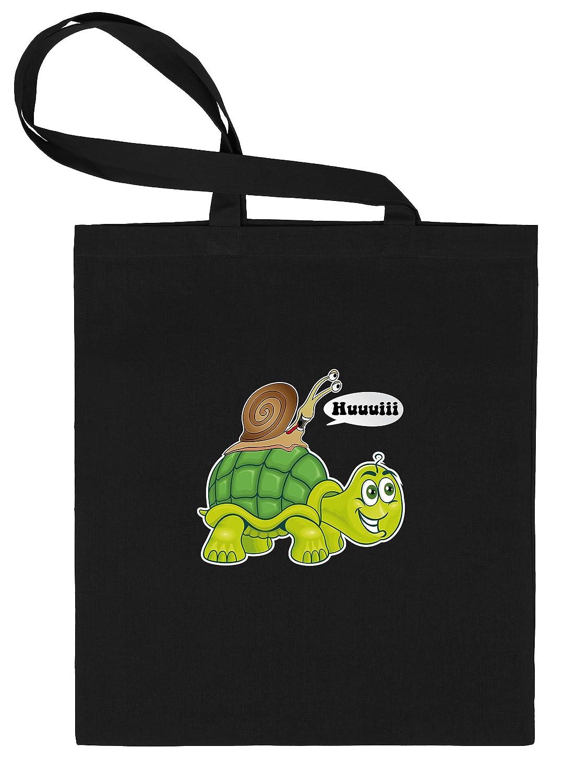 Hui - Caracol - Tortuga - Bolsa de tela estampado por una ...