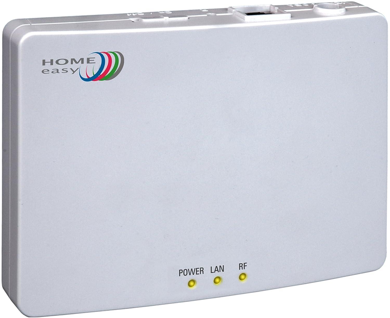 Home Easy IP-BOX HE840IP, Gateway zur Steuerung der Home Easy Serie, weiß , HE840IP
