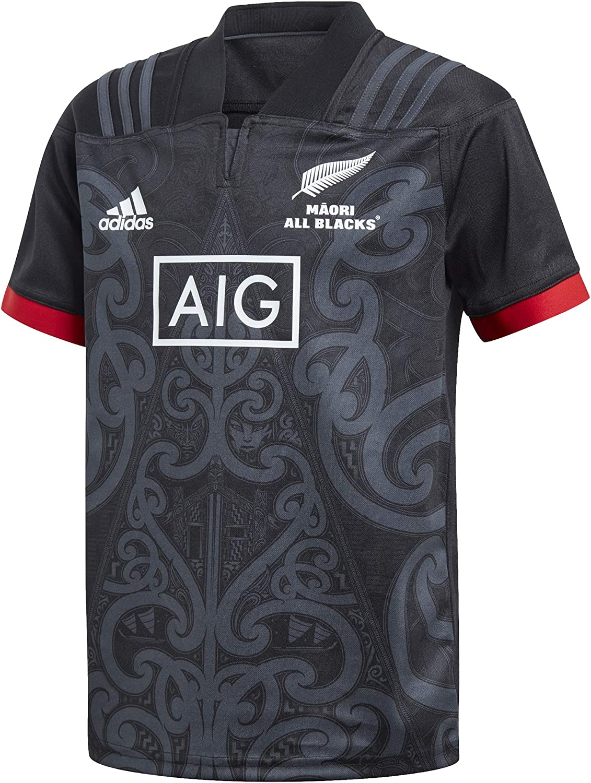 adidas AB Maori JSY Y - Camiseta All Blacks, Unisex Infantil ...