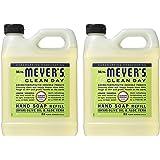 Mrs. Meyers Liquid Hand Soap Refill Lemon Verbena, 2 Pack (33 oz)
