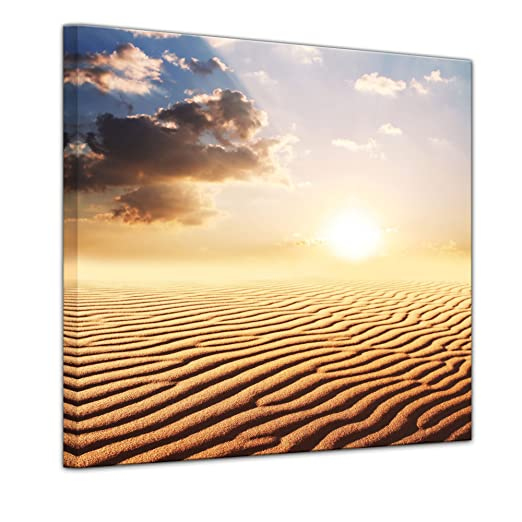 Bilderdepot24 Cuadros en Lienzo Desierto del Sahara en África - 40 ...