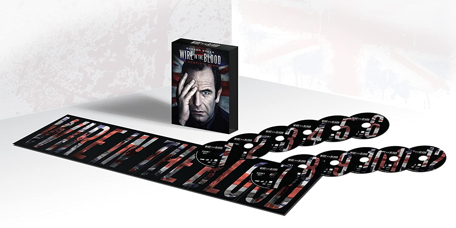 Amazon.com: Wire in the Blood: The Complete Series: Robson Green ...