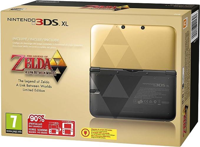 Nintendo 3DS - Consola XL (Edición Especial Limitada Zelda) + ...
