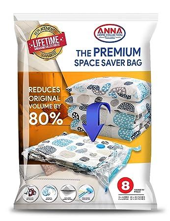 Amazon.com: Anna Home - Bolsas de almacenamiento al vacío (8 ...
