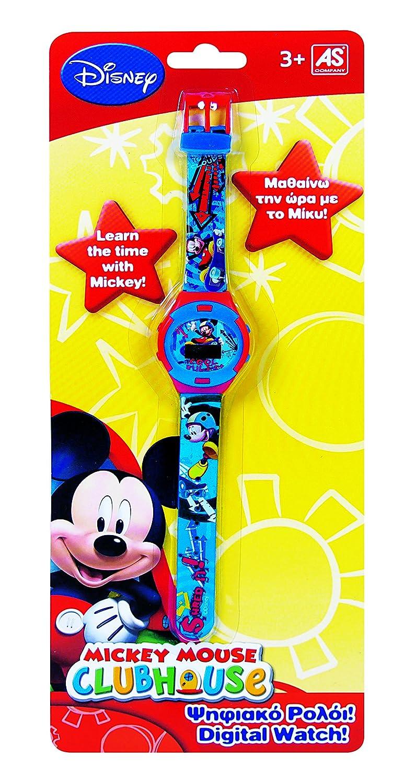 Mickey Mouse Mickey - 1027 - 64108 - Digital de reloj de pulsera: Amazon.es: Juguetes y juegos