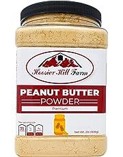 Hoosier Hill Farm Peanut Butter Powder, 2 Lbs, Gluten Free, Non-GMO, Made in USA