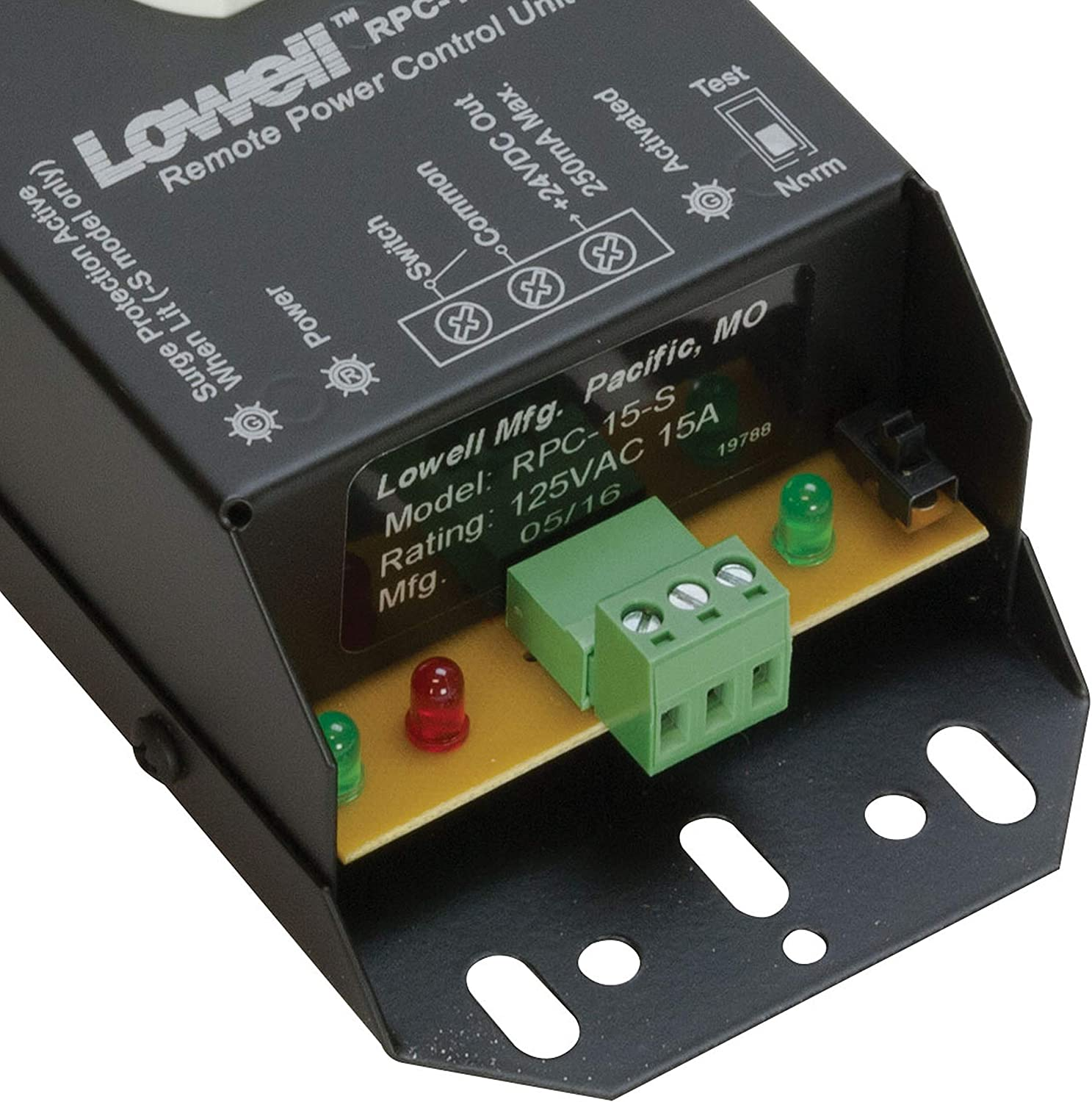 Lowell RPC-20-SCD 20A Remote Power Control