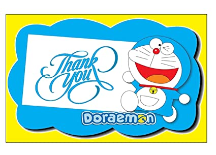 Doraemon Theme Thank You Tags 20 Pieces For Party