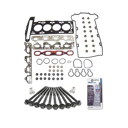 Head Gasket Set Bolt Kit Fits: 00-07 Chevrolet HHR Malibu Pontiac Saturn  2 2L DOHC