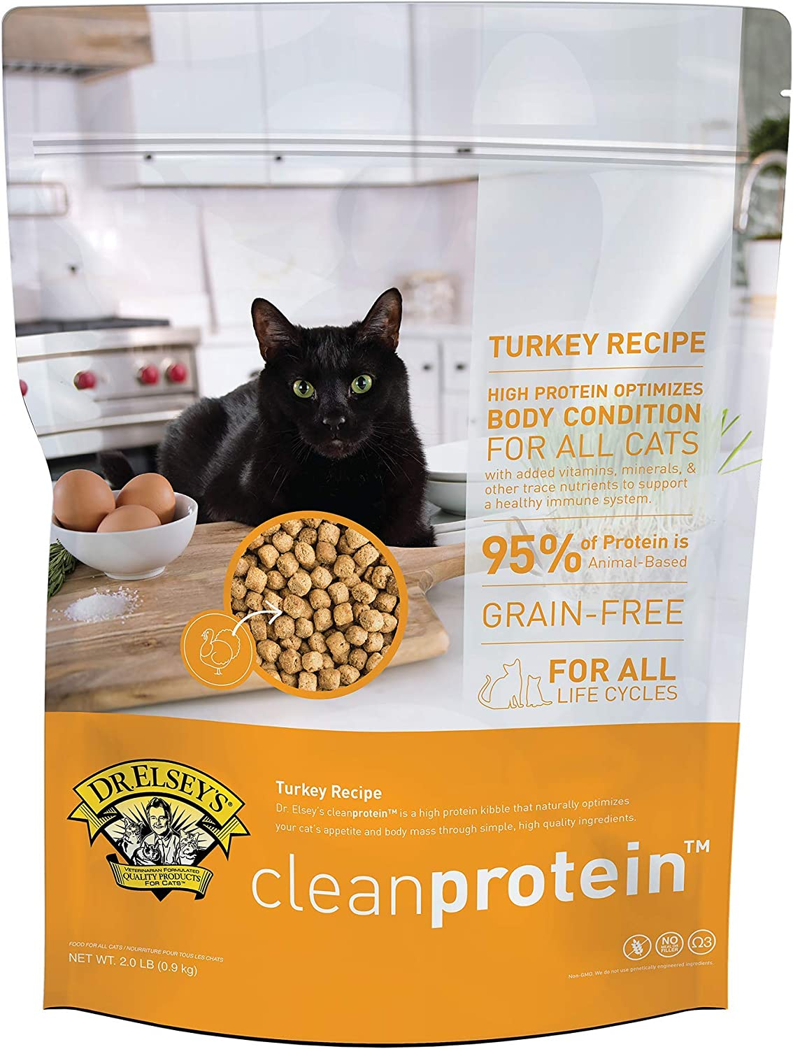 Dr. Elsey's Cleanprotein Dry Kibble Turkey