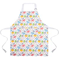 Apron for Kids; Toddler Washable Cute Smock with Pockets; Ola Koala Boys & Girls Adjustable Aprons for Cooking, Baking…
