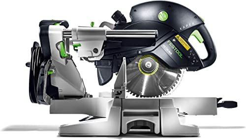 TACKLIFE Sliding Compound Miter Saw, Double Speed 3200 4500rpm, 2000W, 40T 48T Blades, 45 Bevel Cut with Laser Guide, Extensible Table, Dust Bag – EMS01A