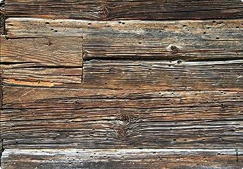 Myspotti Spritzschutz Rustikal Holz 59 X 41 Cm Amazon De Kuche