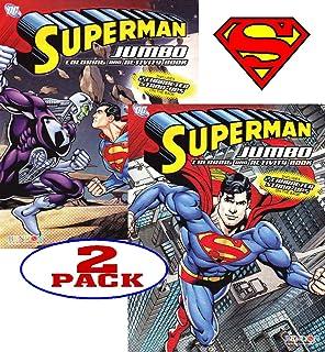 Amazoncom Superman Coloring Book  Superman Jumbo Coloring And