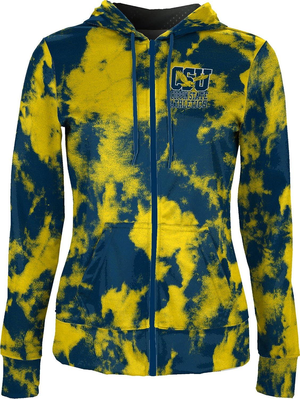 School Spirit Sweatshirt ProSphere Coppin State University Girls Zipper Hoodie Grunge