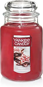 Yankee Candle Large Jar Scented Candle, Frosty Gingerbread
