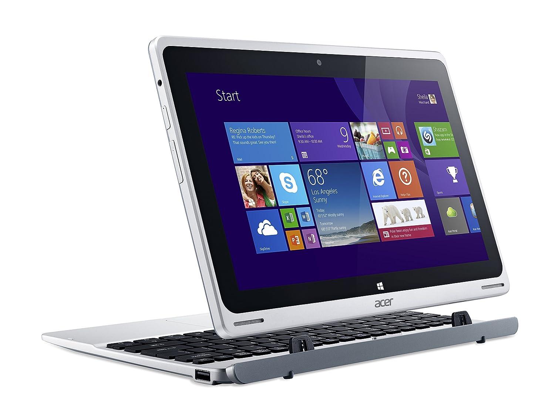 Acer Aspire Switch 10 SW5-011-13BL - Ordenador portátil (HÃbrido (2-en-1), Plata, Convertible (Detachable), 1,33 GHz, Intel Atom, Z3745): Amazon.es: ...