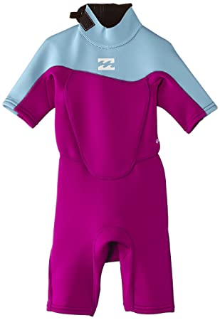 6ef18806bc Billabong Toddler Synergy 2mm Back Zip Shorty Wetsuit Violet S42B07 AgeSize  - 6 Years half off  0 ...