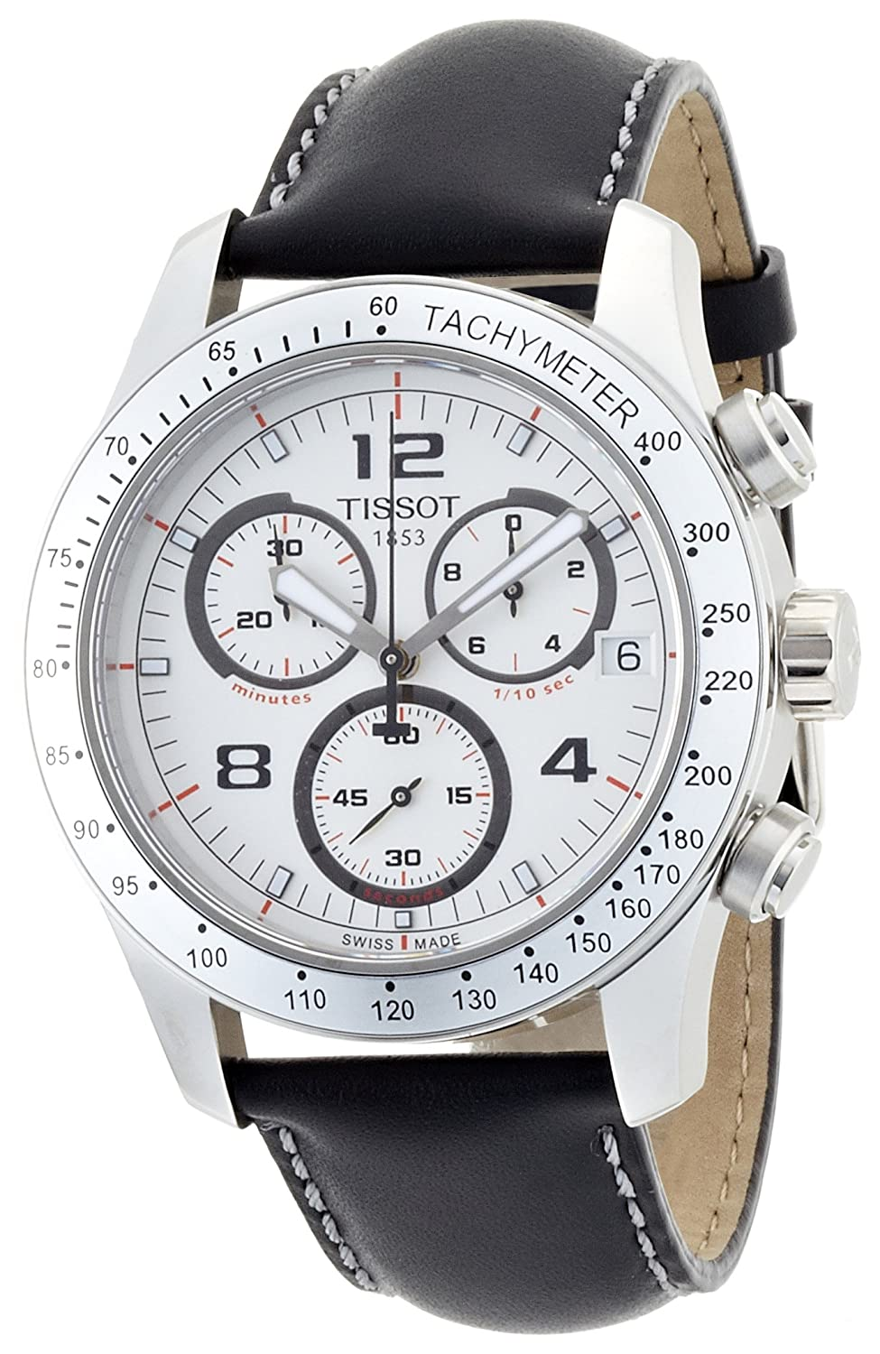 Tissot T0394171603700 V8 Gents Chronograph Amazon Co Uk Watches