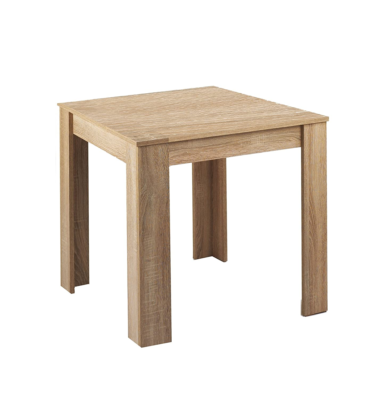 Cavadore 80512 tavolo Nick, 80 x 80 cm, melammina rovere sonoma