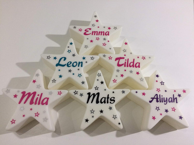 LED Stern mit Namen