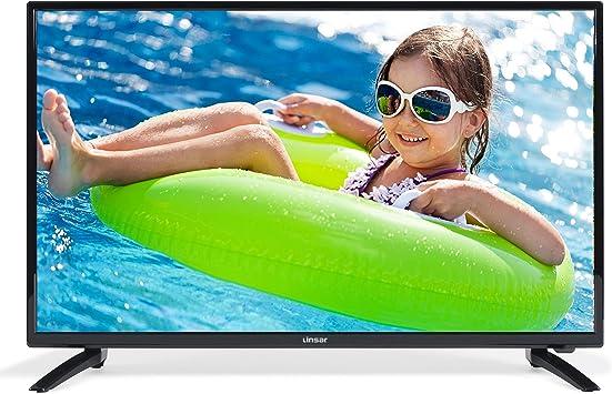 Linsar 40LED320 - Televisor LED HD de 40 pulgadas, FHD (1920x 1080), HDMIx 3, USBx 2, VGA, CI +, reproductor multimedia Via puerto USB, color negro (clase energética A): Amazon.es: Electrónica