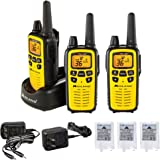 Midland 36 Channel FRS Two-Way Radio - Long Range Walkie Talkie, 121 Privacy Codes, NOAA Weather Scan + Alert (Yellow/Black,