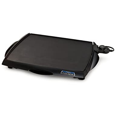 Presto 07046 Tilt 'n Drain Big Griddle Cool-Touch Electric Griddle