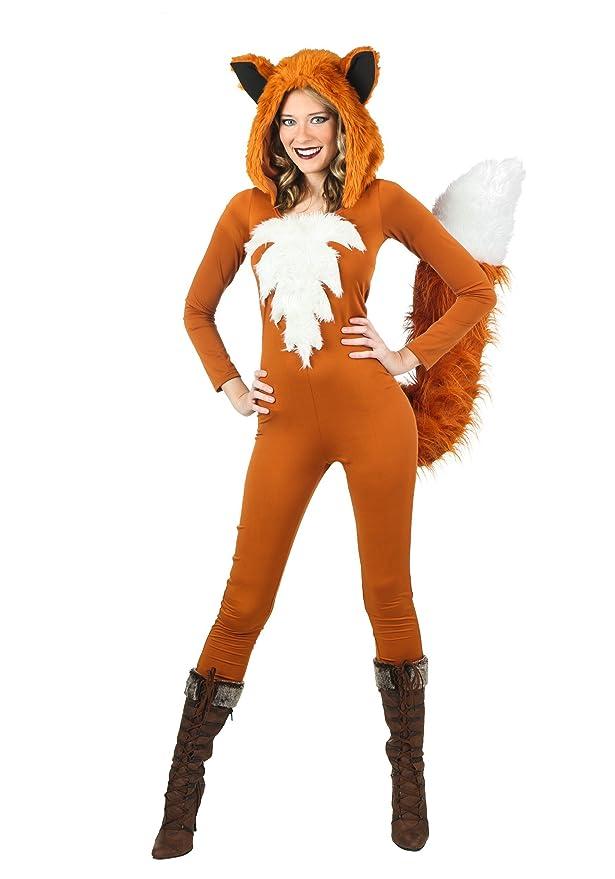 sc 1 st  Amazon.com & Amazon.com: FunCostumes Sexy Fierce Fox Costume: Clothing