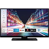 Techwood H32T52C 81 cm (32 Zoll) Fernseher (HD-Ready, Triple-Tuner, Smart TV, Prime Video)